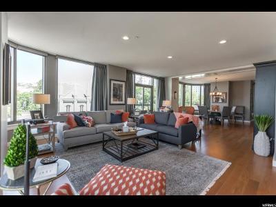 Salt Lake City Condo For Sale: 99 W South Temple St #306