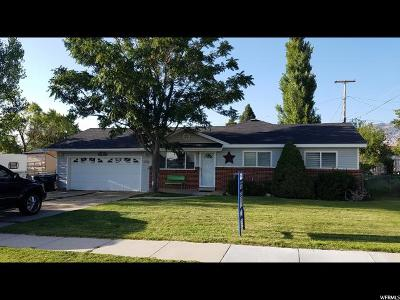 Brigham City Single Family Home For Sale: 768 W 700 S