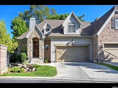 Holladay Condo For Sale: 1803 E Cottonwood Glen Ct