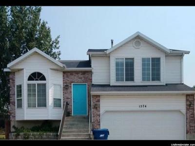 Pleasant Grove Single Family Home For Sale: 1574 N 460 W