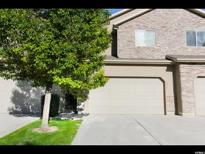 Lehi Townhouse For Sale: 1952 N Hollow Ct W