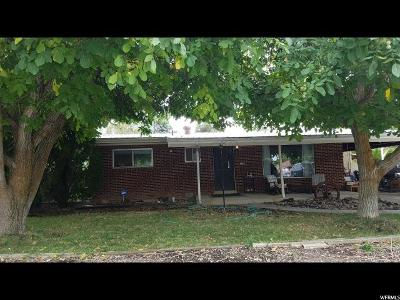 Brigham City Single Family Home For Sale: 126 E 500 N