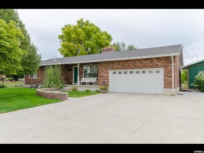 Newton Single Family Home For Sale: 43 W 300 S
