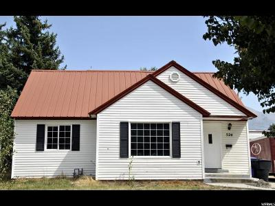 Tremonton Single Family Home For Sale: 524 N 100 E