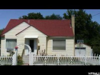 Young Ward Single Family Home For Sale: 529 E 100 S