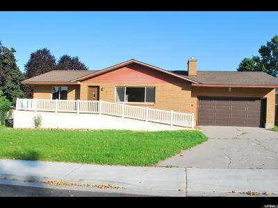 Orem Single Family Home For Sale: 244 W Alturas
