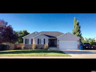 Santaquin Single Family Home For Sale: 198 W 690 N