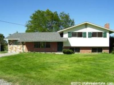 Tremonton Single Family Home For Sale: 4925 W 12000 N