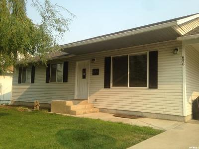 Brigham City Single Family Home For Sale: 656 W 300 N