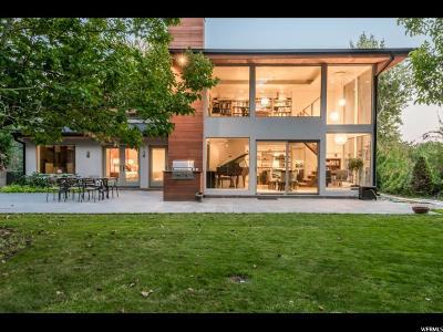 Salt Lake City Single Family Home For Sale: 2581 E 1300 S