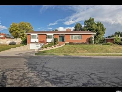 Holladay Single Family Home For Sale: 2174 E Suada Dr S