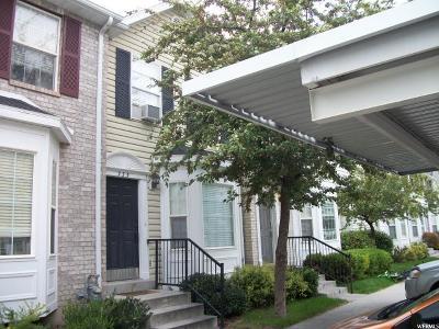 Springville Townhouse For Sale: 755 N 150 E