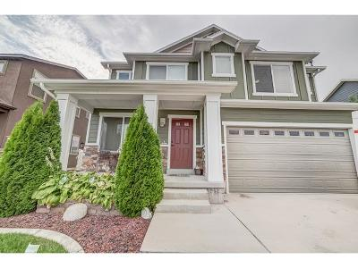 Lehi Single Family Home For Sale: 544 S Willow Xing