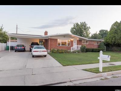 Provo Single Family Home For Sale: 1674 W 1050 N