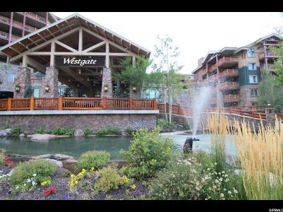 Park City Condo For Sale: 3000 Canyons Resort Dr #4703B