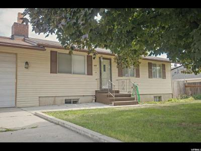 Orem Single Family Home For Sale: 875 W 530 N