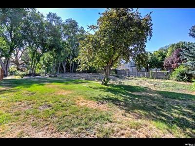 Salt Lake City Residential Lots & Land For Sale: 1646 E 4150 S