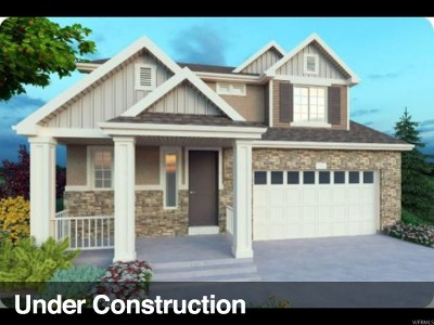 Lehi Single Family Home For Sale: 3011 W 2400 N #209