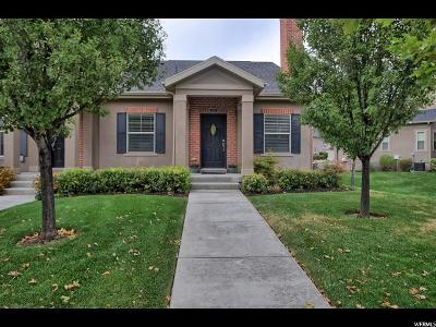 Lehi Townhouse For Sale: 261 E Clubview Ln