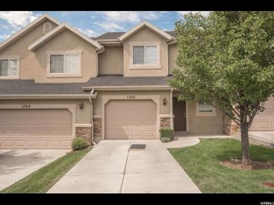 Orem Townhouse For Sale: 1166 W 1550 N