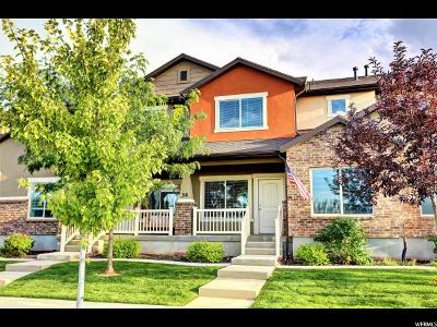 Santaquin Townhouse For Sale: 38 W Ginger Gold Rd N