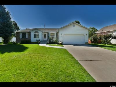 Springville Single Family Home For Sale: 1574 E 300 S