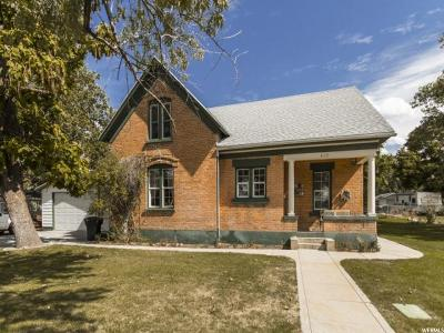 Brigham City Single Family Home For Sale: 432 N 200 W