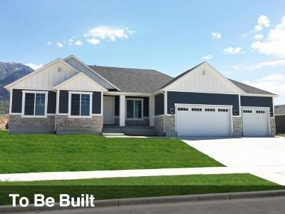 Lehi Single Family Home For Sale: 3372 N Hillside Dr W #5