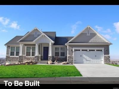 Lehi Single Family Home For Sale: 3489 N Hillside Dr #12