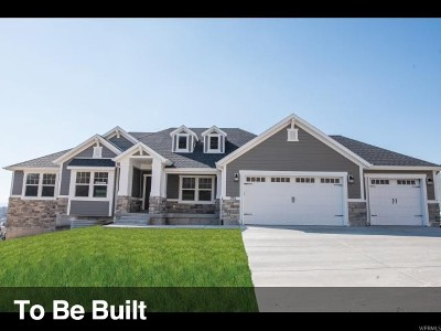 Lehi Single Family Home For Sale: 1568 W Morning View Way N #8