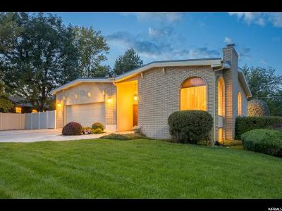 Holladay Single Family Home For Sale: 1495 E Meadowmoor Rd S