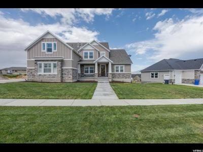Saratoga Springs Single Family Home For Sale: 464 W Ruger Dr