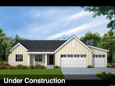 Provo Single Family Home For Sale: 1720 S 642 #LOT207