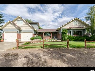 Dayton Single Family Home For Sale: 3336 W 2000 N
