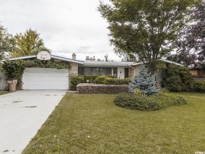 Salt Lake City Single Family Home For Sale: 2312 S 2300 E