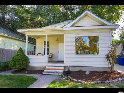 Salt Lake City UT Single Family Home For Sale: $279,900