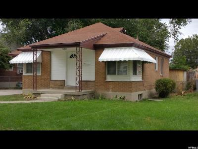 Salt Lake City UT Single Family Home For Sale: $225,000