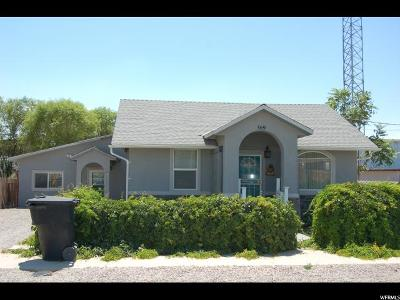 Single Family Home For Sale: 369 W 100 N