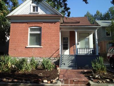 Salt Lake City Multi Family Home For Sale: 465 E 1st Ave N #465/67