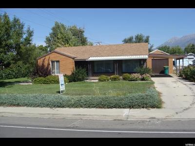 Orem Single Family Home For Sale: 85 E 1600 S