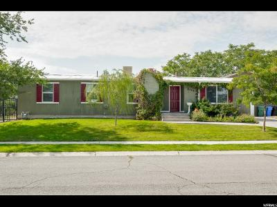West Jordan Single Family Home For Sale: 8556 Susan Way