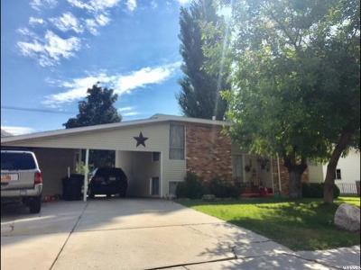 Brigham City Single Family Home For Sale: 448 Parkinson Dr