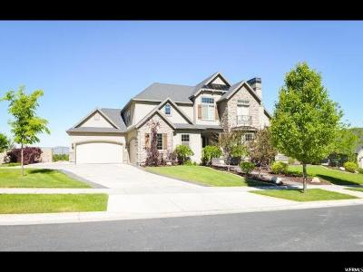 Mapleton Single Family Home For Sale: 2592 S Lookout Dr