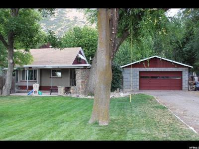 Springville Single Family Home For Sale: 718 E 400 N
