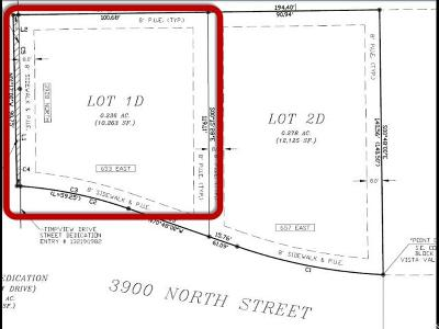 Provo Residential Lots & Land For Sale: 653 E 3900 N