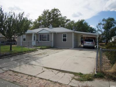 Salt Lake City UT Single Family Home For Sale: $209,900