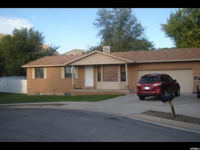 Springville Single Family Home For Sale: 1395 S 600 E
