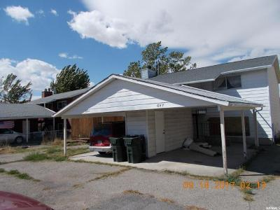 Tooele Multi Family Home For Sale: 603 Smelter E