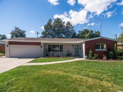 Holladay Single Family Home For Sale: 5548 S Fairoaks Dr
