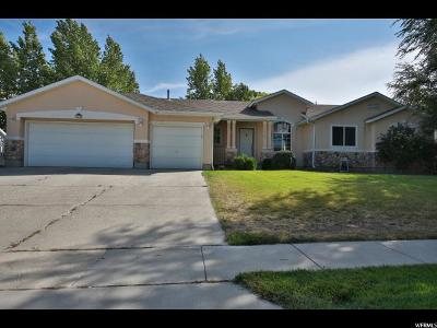 West Jordan Single Family Home For Sale: 5495 W Windmill Dr S